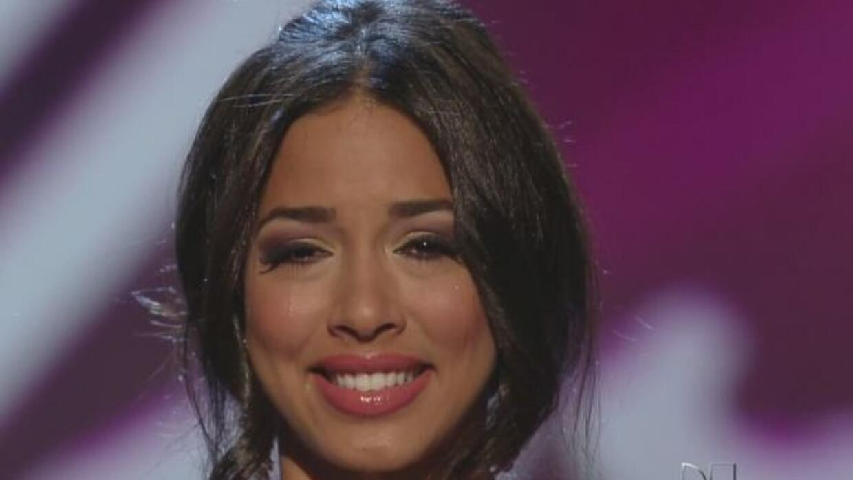 Shalimar Rivera fue la séptima eliminada de Nuestra Belleza Latina