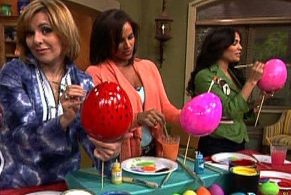 Ana y Karla contaron con la compañía de Alexandra. Ellas p...