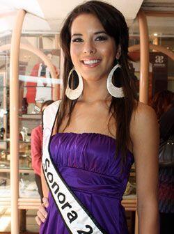 Nuestra Belleza Sonora es Lorena Camargo Miranda de 21 años.
