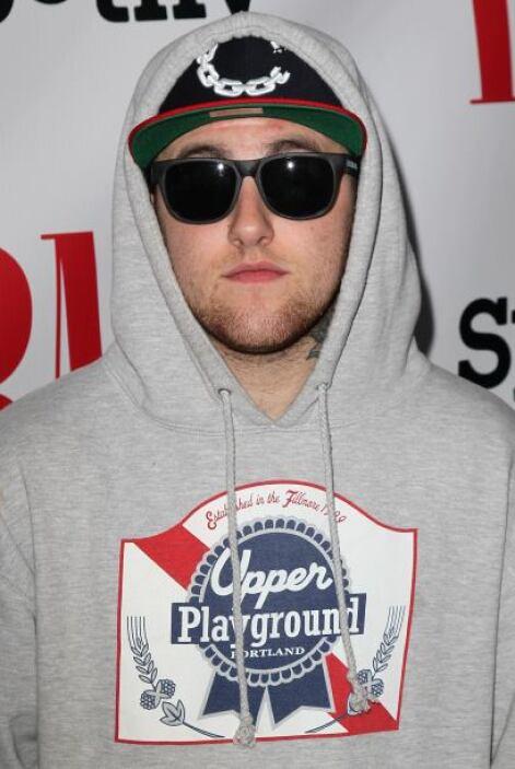 5.- El rapero Mac Miller saltó a la fama con su álbum 'Blue Slide Park'...