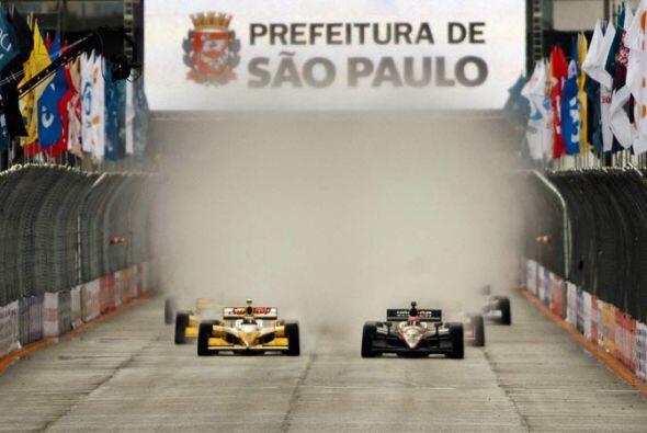 Power tomó la salida desde la 'pole position' y esperaba terminar la car...