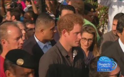 El Príncipe Harry lo pasó 'gustoso' en Brasil y prometió volver para los...