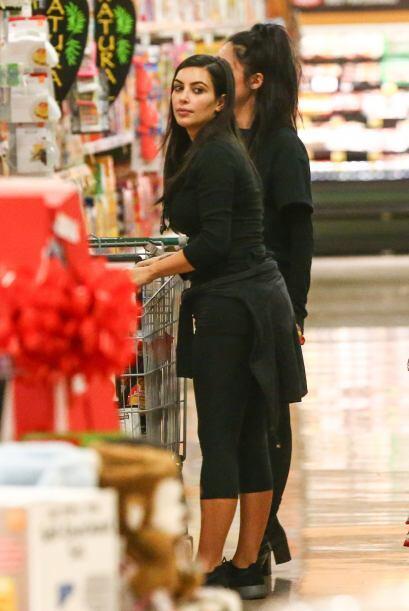 ¡Será que Kim ahora lleva una estricta dieta a base de carbohidratos?