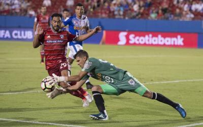 Pescadito Ruiz de FC Dallas en la CONCACAF