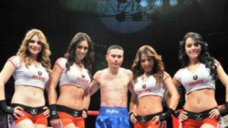 'Rayito' García noqueó en tres rounds a Landero (Foto. Zanfer)