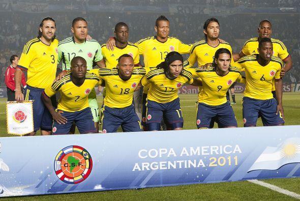 Colombia llegó a cuatro puntos en el Grupo A, con un solo gol a f...