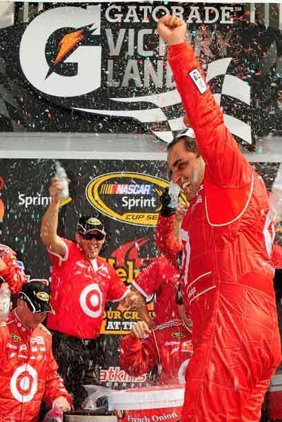 Esta vez fue el mejor piloto y se alzó con la victoria.
