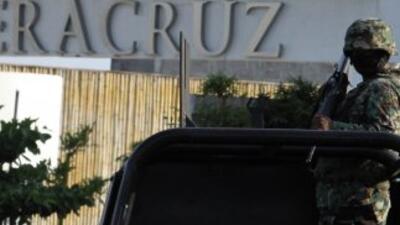 Veracruz ha sido víctima de enfrentamientos producto de la presencia de...