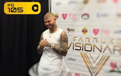 El famoso reggaetonero dio una función memorable.