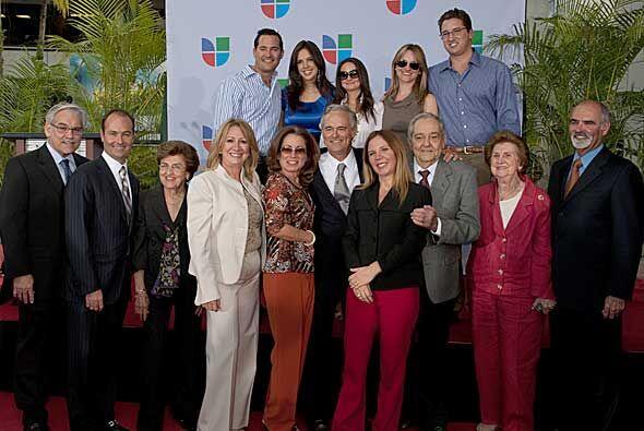 Y aquí el éxito personal de Ray Rodríguez, su familia completa.