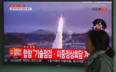 Durante este mes Corea del Norte ha llevado a cabo tres pruebas con misi...