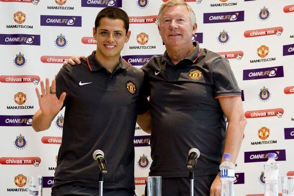 En dicho momento se esperaba que Sir Alex Ferguson fuera llevando con mu...