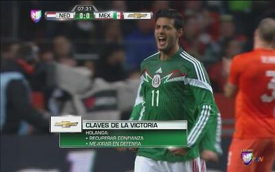 Holanda vs. México: Carlos Vela reaparece con el Tri con increíble golaz...
