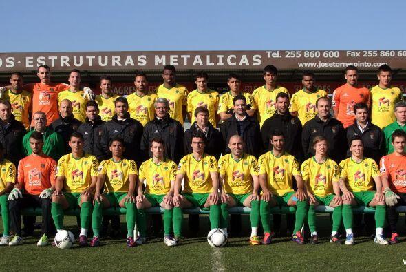En la foto oficial del club el cuscatleco ya estuvo presente (Cortesía C...