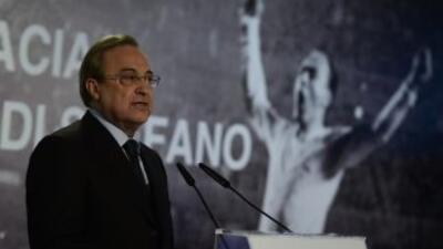 Florentino Pérez declaró que Di Stéfano cambi la historia del Real Madri...