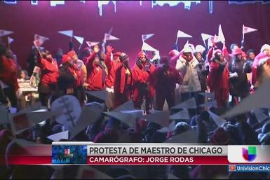 Miles de maestros participan en protesta de CTU