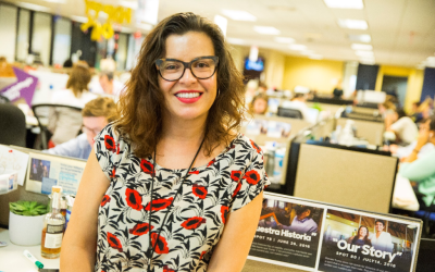 Sylvia Ruiz, directora de medios hispanos pagos para la campaña.
