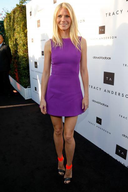 Gwyneth Paltrow modernizó su 'look' del pasado con unas sandalias...