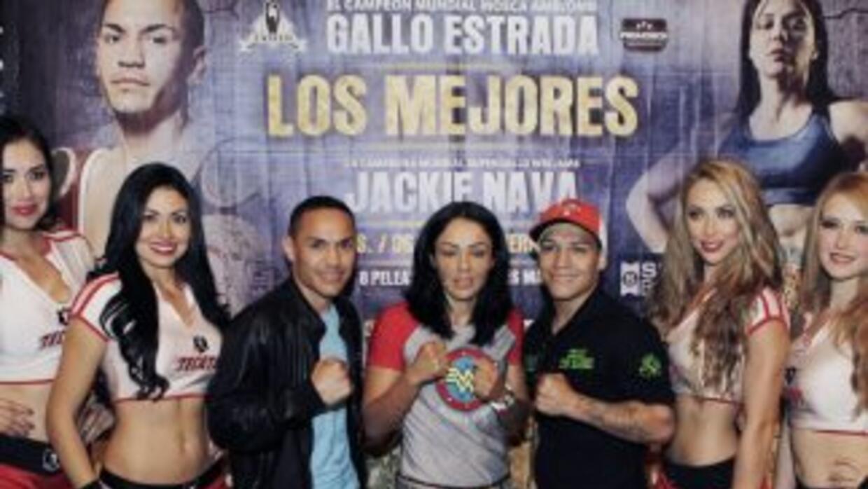 'Gallo' Estrada y Jackie Nava listos para dar un buen espectáculo (Foto:...