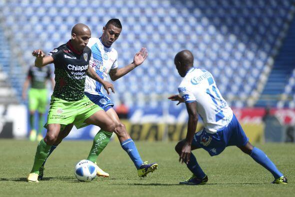 Con gol en tiempo de descuento, jaguares de Chiapas le ganó 3-2 a Puebla...