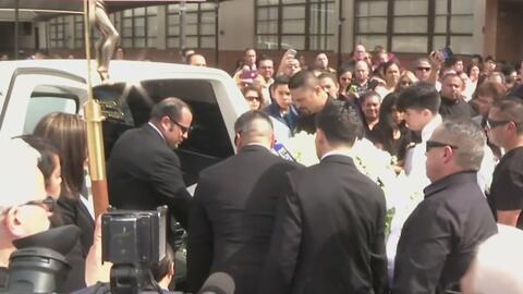 Elías Rodríguez que falleció ahogado en el Río Los Ángeles fue sepultado...