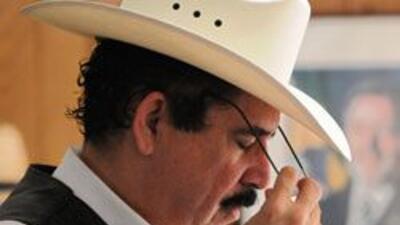 Manuel Zelaya estuvo asilado en la embajada de Brasil en Tegucigalpa tie...