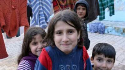 Miles de sirios han huido del país a causa de la guerra civil desatada h...