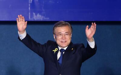 Moon Jae-in arrasó en las elecciones por su mensaje anticorrupci&...