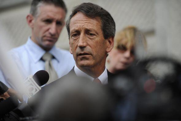 En junio de 2009, el gobernador de South Carolina, Mark Sanford, estuvo...