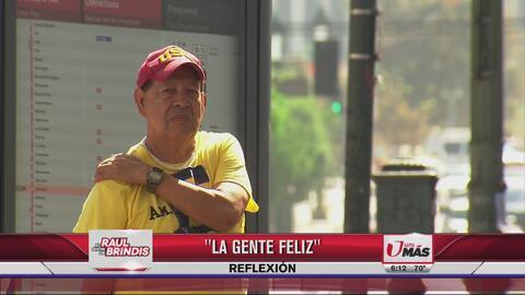 Reflexión: La gente feliz
