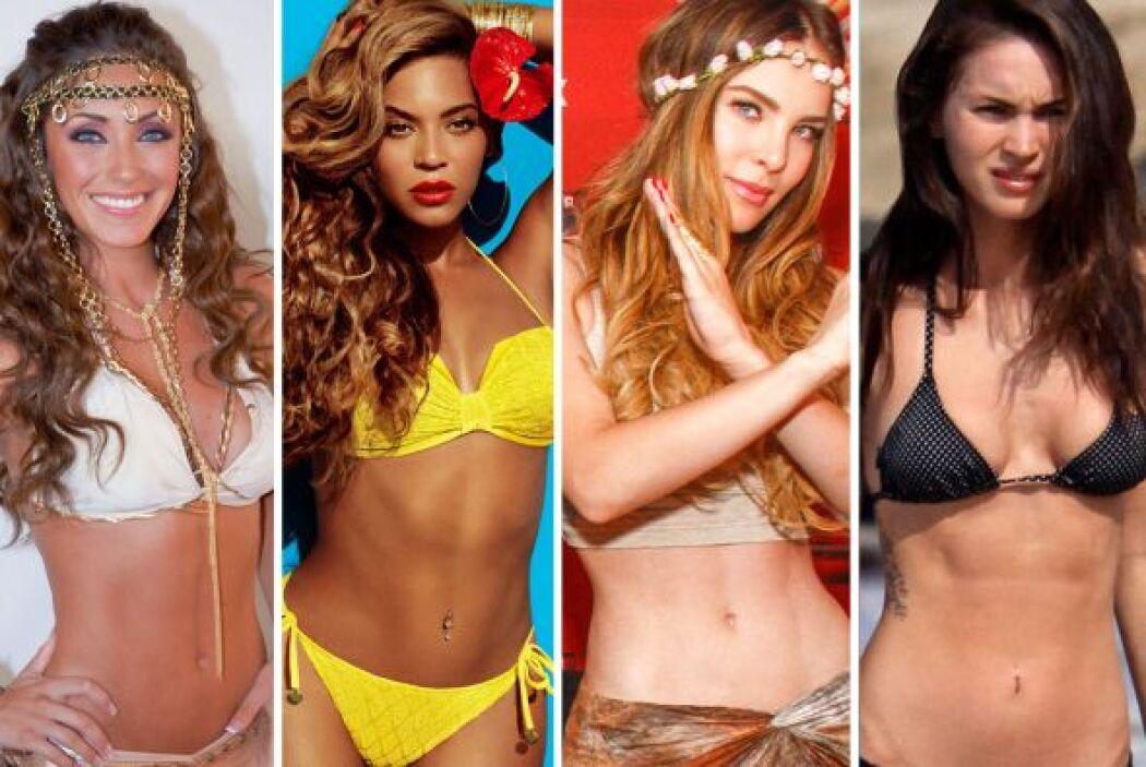 Estas famosas han logrado seducirnos con sus bien formaditos ombligos, q...