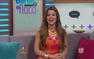 Clarissa Molina ya está más que lista para empezar a trabajar en El Gord...