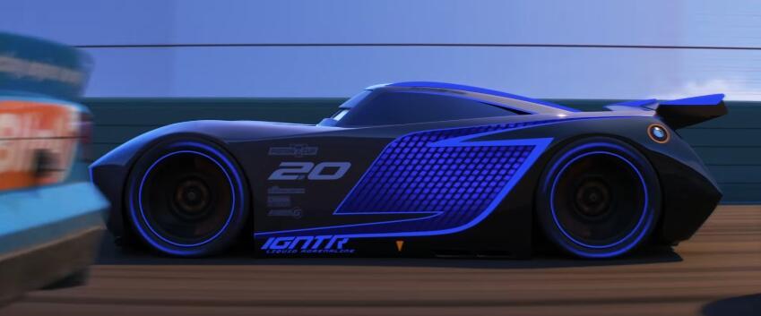 Conoce los espectaulares autos de Cars 3