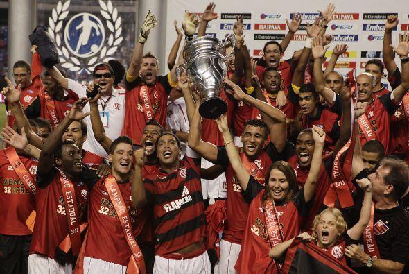 El ´Fla´ ya venía de ganar la Copa Guanabara, el primer título de Ronald...