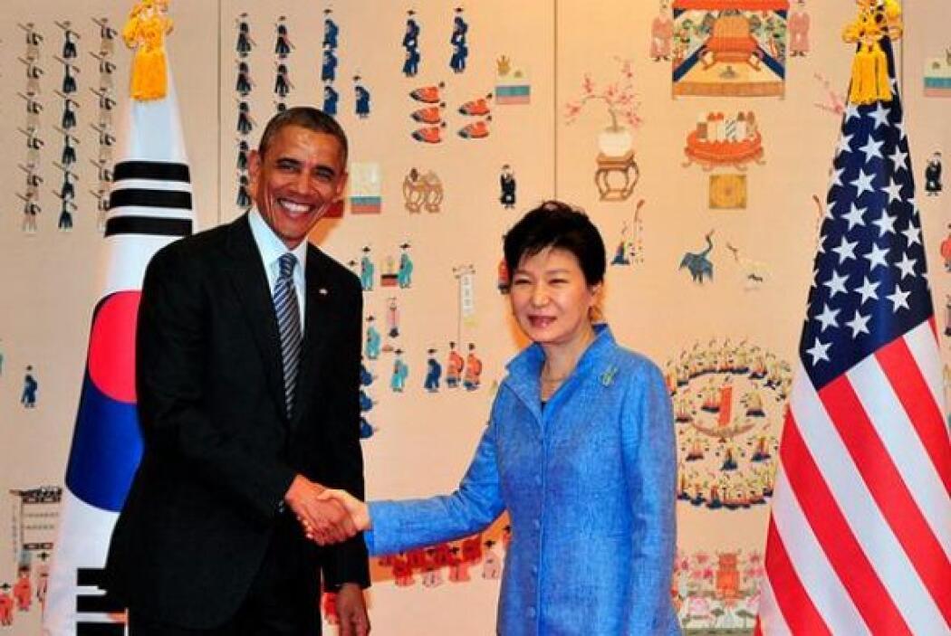 11.- GEUN-HYE PARK: Tiene 62 años. Es la presidenta de Corea del Sur.