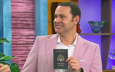 Alan recuperó su pasaporte en su cumpleaños