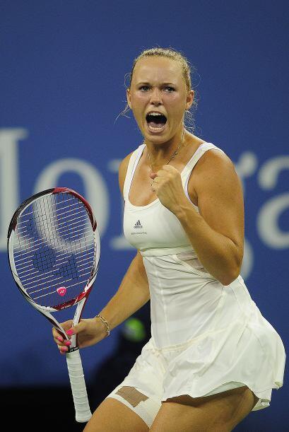 Wozniacki busca su primer Grand Slam y se colocó un paso m&aacute...