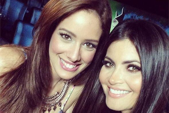 Aleyda admira mucho a su amiga Chiquinquirá delgado con quien ha...