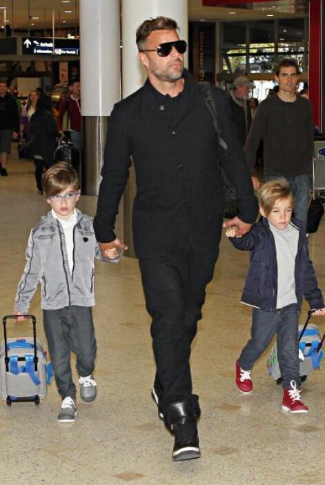 Valentino Martin y Matteo Martin son dos pequeños que con el ejemplo de...