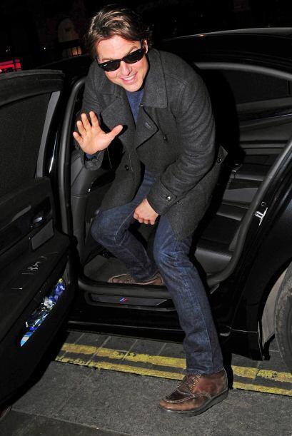 """Tom Cruise se encontraba por los alrededores filmando """"Misión Imposible..."""