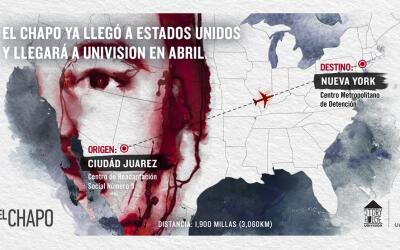 'El Chapo' llega a Univision en abril