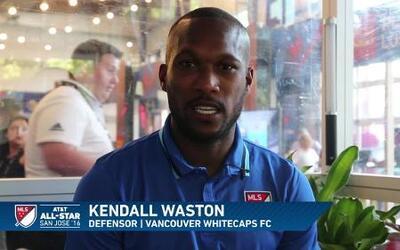 """Kendall Waston: """"Es un sueño jugar al lado de Drogba"""""""