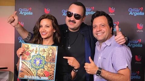Pepe Aguilar habló con Omar y Argelia acerca de la muerte y lo difícil q...