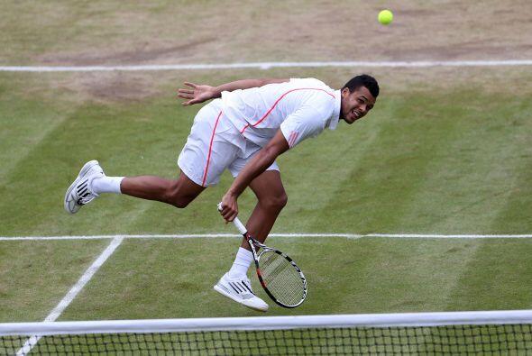 Tsonga se verá las caras en los cuartos de final de la ronda británica c...