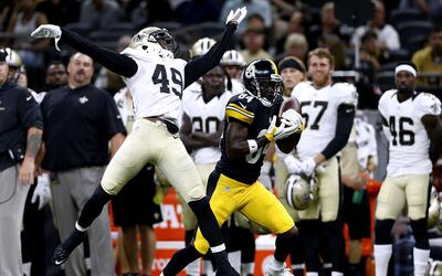 Steelers - Saints: Ben Roethlisberger y Antonio Brown a escena