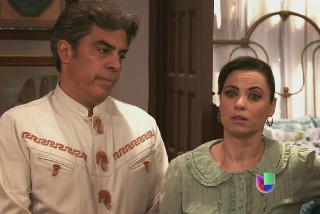 Piedad no resiste más y dice todo lo que sucedió con Dionisio a Camila y...
