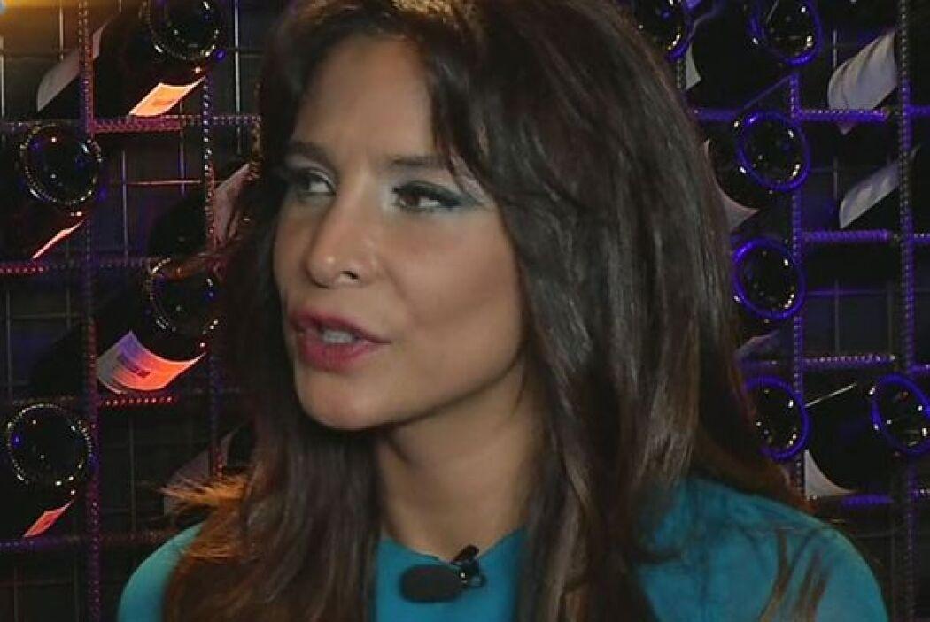 En entrevista con Despierta América la actriz confesó que ella lo sigue...
