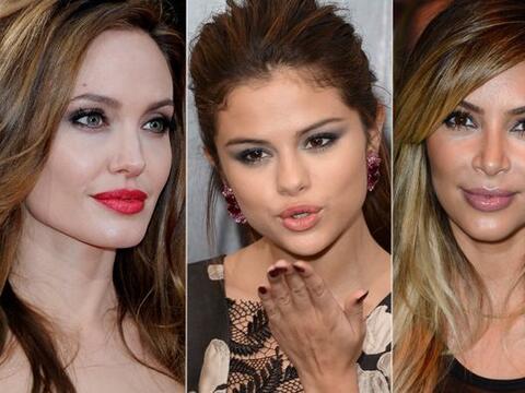 Como para darles un buen beso, estas celebridades tienen las boquitas m&...