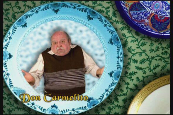 Don Carmelo es el abuelito de María, es un hombre tacaño pero de buen co...