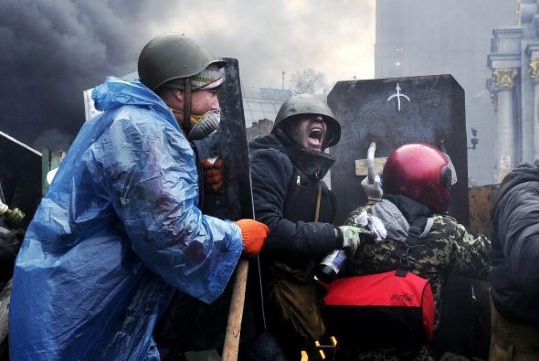 El desalojo fue considerado un progreso hacia la resolución pacífica de...